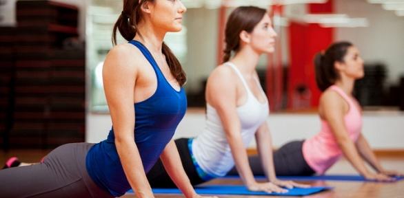 Занятия йогой, танцевальными или фитнес-направлениями встудии танца Flash