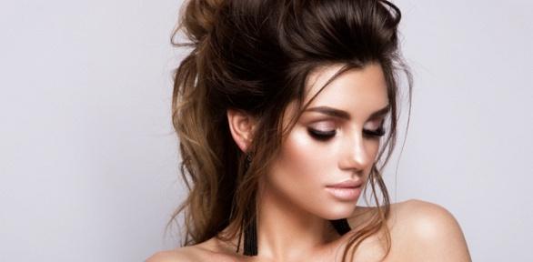 Уход забровями, наращивание ресниц, макияж встудии Beauty Mir Aika