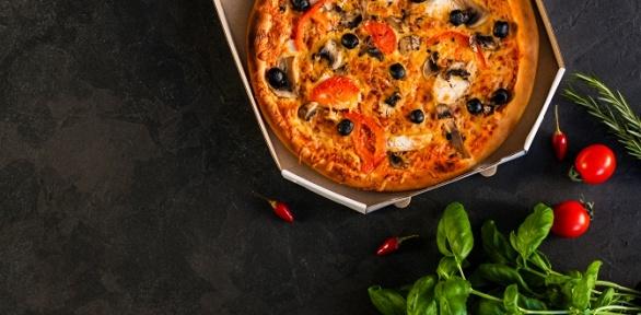 Пицца навыбор откафе «Вкуснофф» заполцены