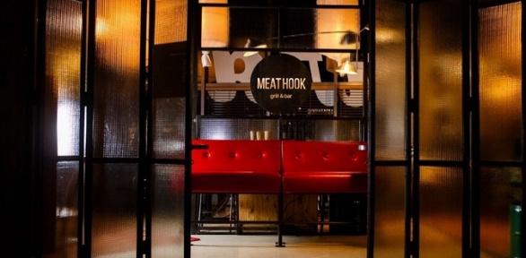 Всё меню инапитки вбаре Meat Hook Grill &Bar заполцены