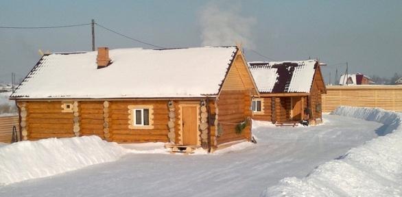 Русская баня надровах отбазы отдыха «КЛБ»
