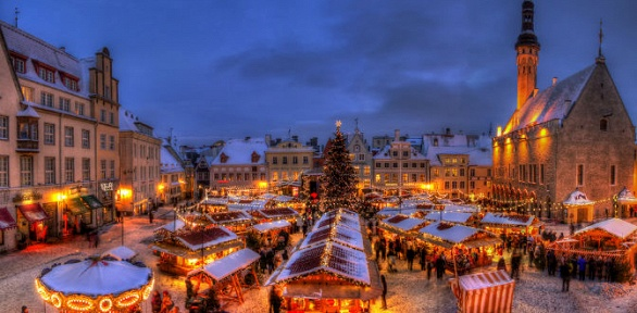 Круиз «Новый год по-европейски» напароме Silja Line Europe