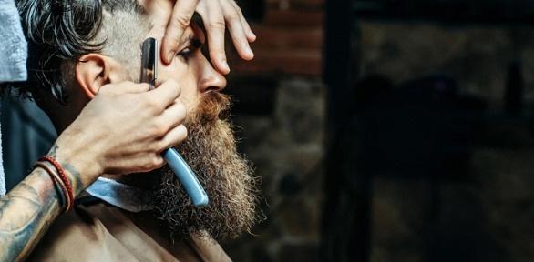 Мужская стрижка вбарбершопе Mac Barber