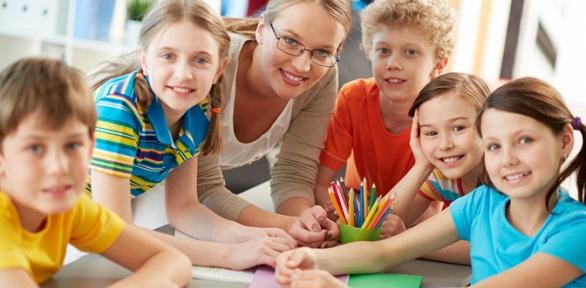 День посещения летнего английского детского клуба Learning Group