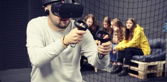 Игра вклубе виртуальной реальности OMG VRClub