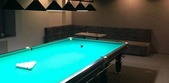 2или 3часа игры врусский бильярд для компании в«Бильярдном клубе №1»