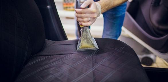 Химчистка автомобиля иустранение запахов всалоне откомпании Bazil Avto