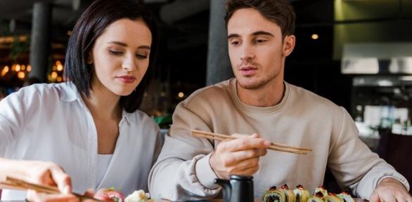 Блюда изменю инапитки всуши-баре Wilochka заполцены