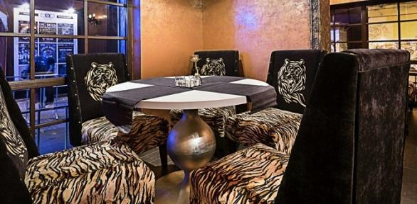Всё меню и напитки в клубе Tiger Bar за полцены