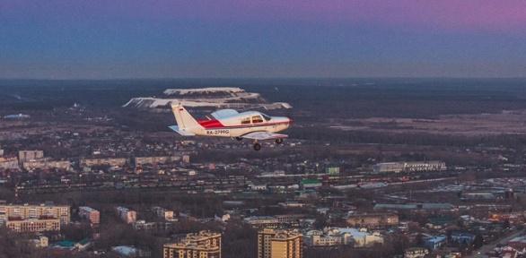 Полет, обучение пилотированию отаэроклуба Sky Venture