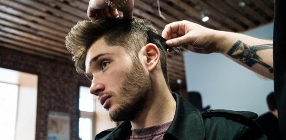 Мужская стрижка, сушка иукладка волос всалоне-парикмахерской «Яна»