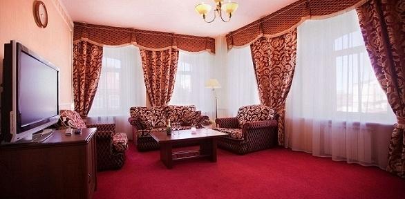 Романтический отдых для двоих вгостиничном комплексе «Купеческий клуб»
