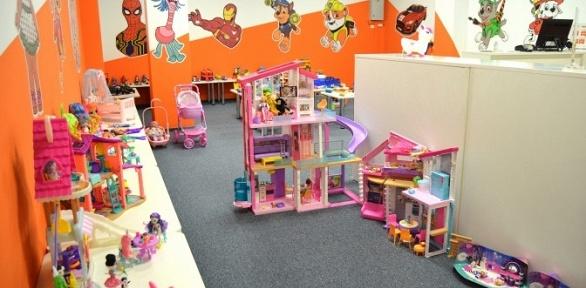 1час посещения детской интерактивной игровой комнаты отсети Trend Toys