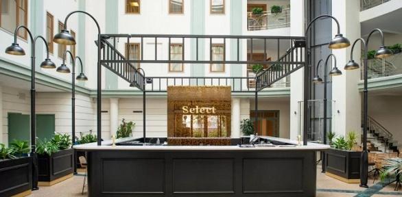 Проживание или романтический отдых вотеле Select Hotel Paveletskaya4*
