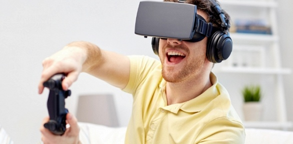 60минут игры вшлеме VRVive вклубе виртуальной реальности Virtus