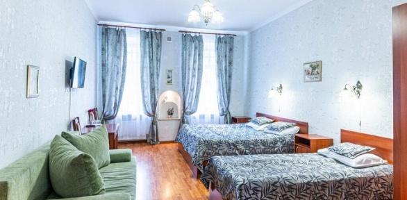 Отдых в центре Санкт-Петербурга в отеле «Танаис»