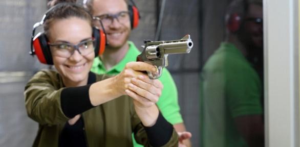 Стрельба изавтомата, винтовки, пистолета илука вкомплексе Shooter