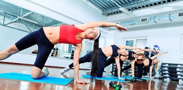 До48групповых занятий фитнесом вклубе «Фристайл»