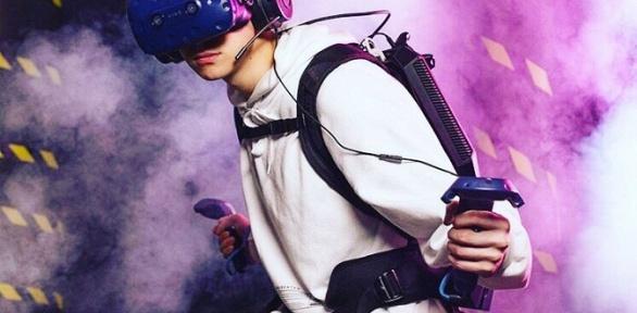 1, 2или 3часа посещения клуба виртуальной реальности VRooms