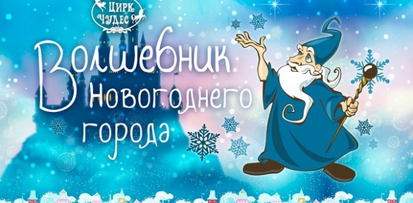 Билет нановогоднее шоу «Волшебник новогоднего города» в«Цирке чудес»