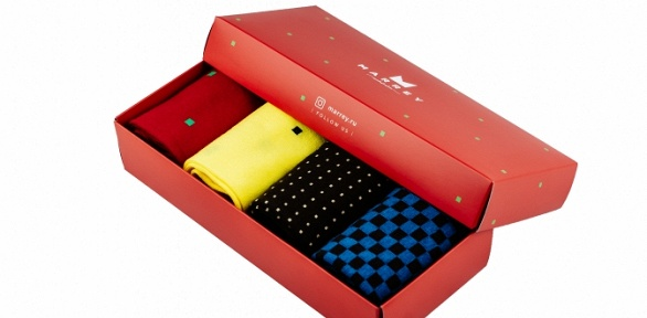 Подарочный набор носков для мужчин или женщин