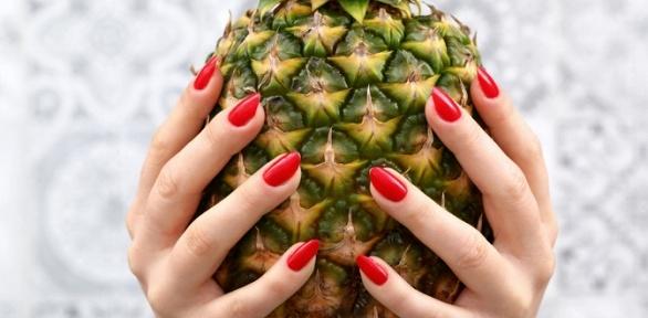 Маникюр ипедикюр спокрытием гель-лаком всалоне красоты Nadi Nails