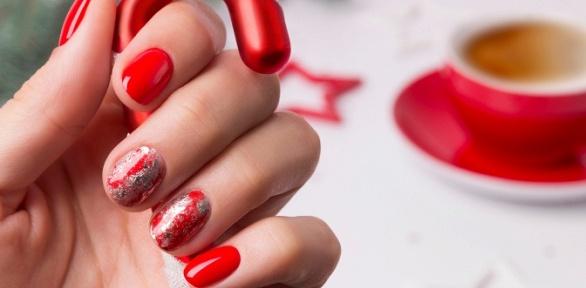 Маникюр ипедикюр спокрытием ногтей гель-лаком отTomi Beauty Room