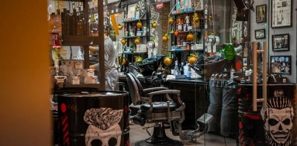 Мужская стрижка или моделирование бороды в27Barbershop