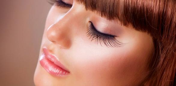 Наращивание ресниц или окрашивание бровей встудии красоты ирелакса Sahar