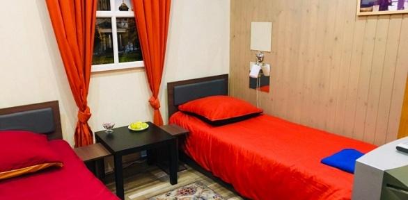 Отдых вцентре Санкт-Петербурга для одного или двоих вотеле Clever Hotel