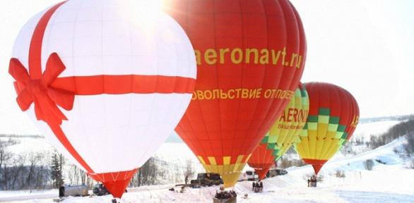 Полет навоздушном шаре отклуба «Аэронавт»