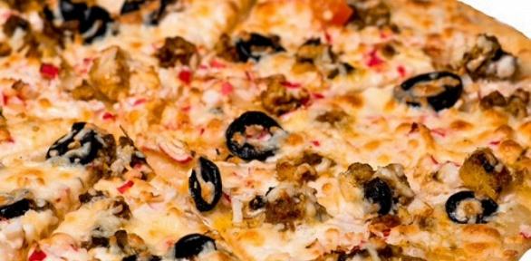 Все виды пиццы впиццерии «Дори пицца» заполцены
