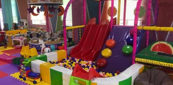 Посещение игровой площадки отдетского развлекательного центра City Kids