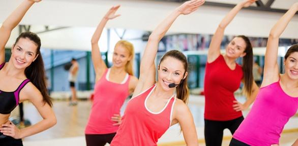 Занятия фитнесом ивтренажерном зале вфитнес-клубе «5элементов»
