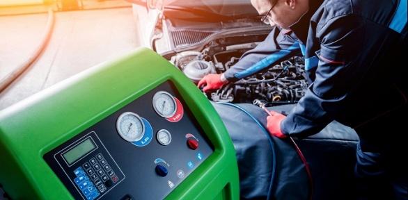 Диагностика кондиционера вавтокомплексе «ЧелябинскАвтоТехОбслуживание»