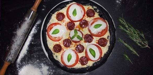 Блюда меню инапитки впиццерии «Ниндзя пицца» заполцены