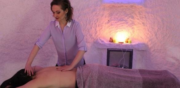 Сеансы массажа в«Соляной пещере»