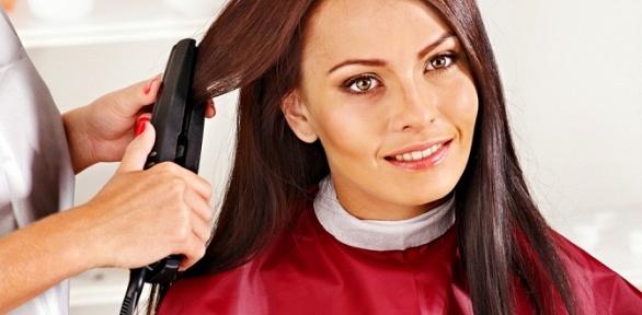 Стрижка, завивка, процедуры для волос всалоне «Макси»