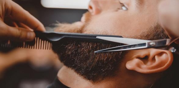 Стрижка, оформление бороды вбарбершопе Legend