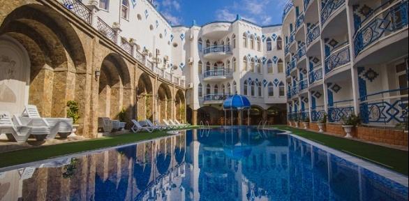 SPA-отдых в Крыму с завтраками в отеле «1001 ночь»