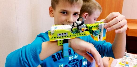 Занятия робототехникой вцентре Idea School