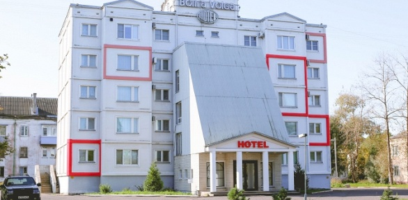 Отдых наберегу Волги вотеле «MaxRooms Волга Hotel»