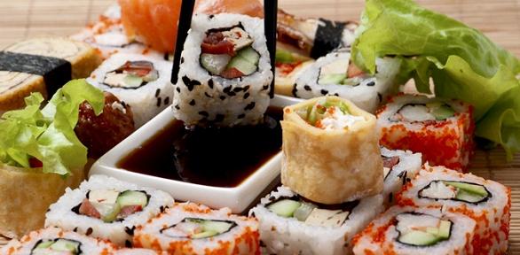 Суши отресторана доставки Susumi Sushi заполцены