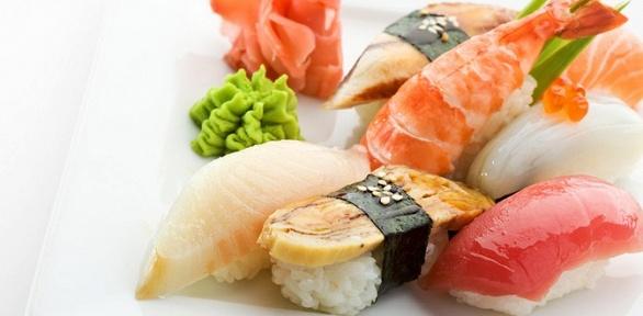 Всё меню японской кухни откафе Lounge Tche Tche