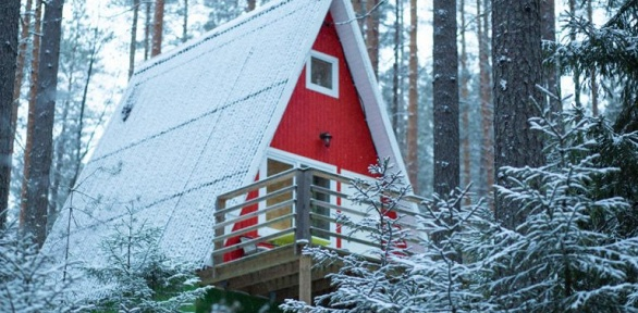 Отдых сарендой гриль-домика ирыбалкой в«Greenvald Парк Скандинавия»