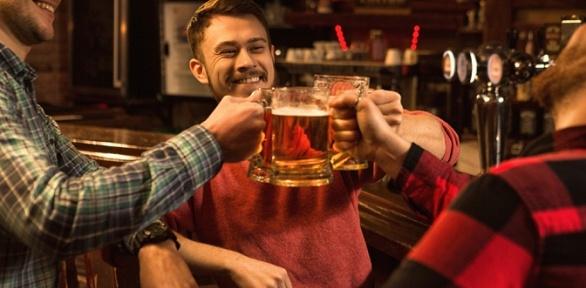 Пивная вечеринка вкафе «Крендель иплюшка»