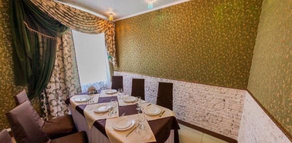 Романтический или дружеский ужин вкафе «Империя вкуса»