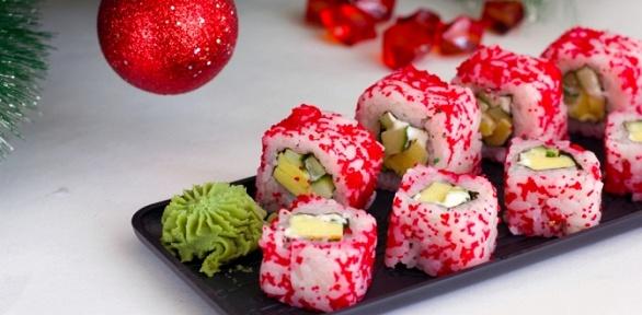 Суши-сеты отресторана «Океан суши» заполцены