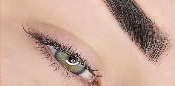 Перманентный макияж век, бровей или губ вкабинете I_Dealface
