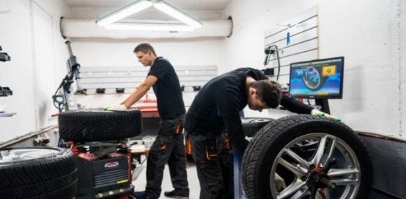 Шиномонтаж ихранение колёс отцентра «МосГорШина»